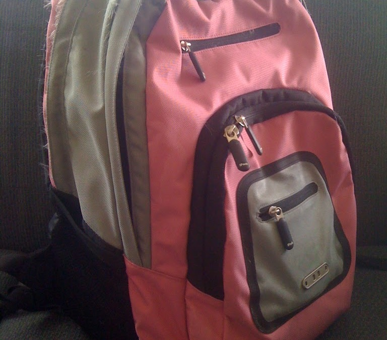 Goodbye Purse, Hello Backpack!
