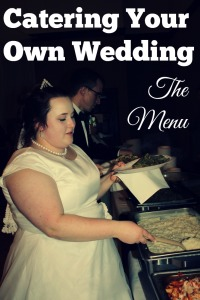 How To Cater Your Own Wedding Self Catering Menu