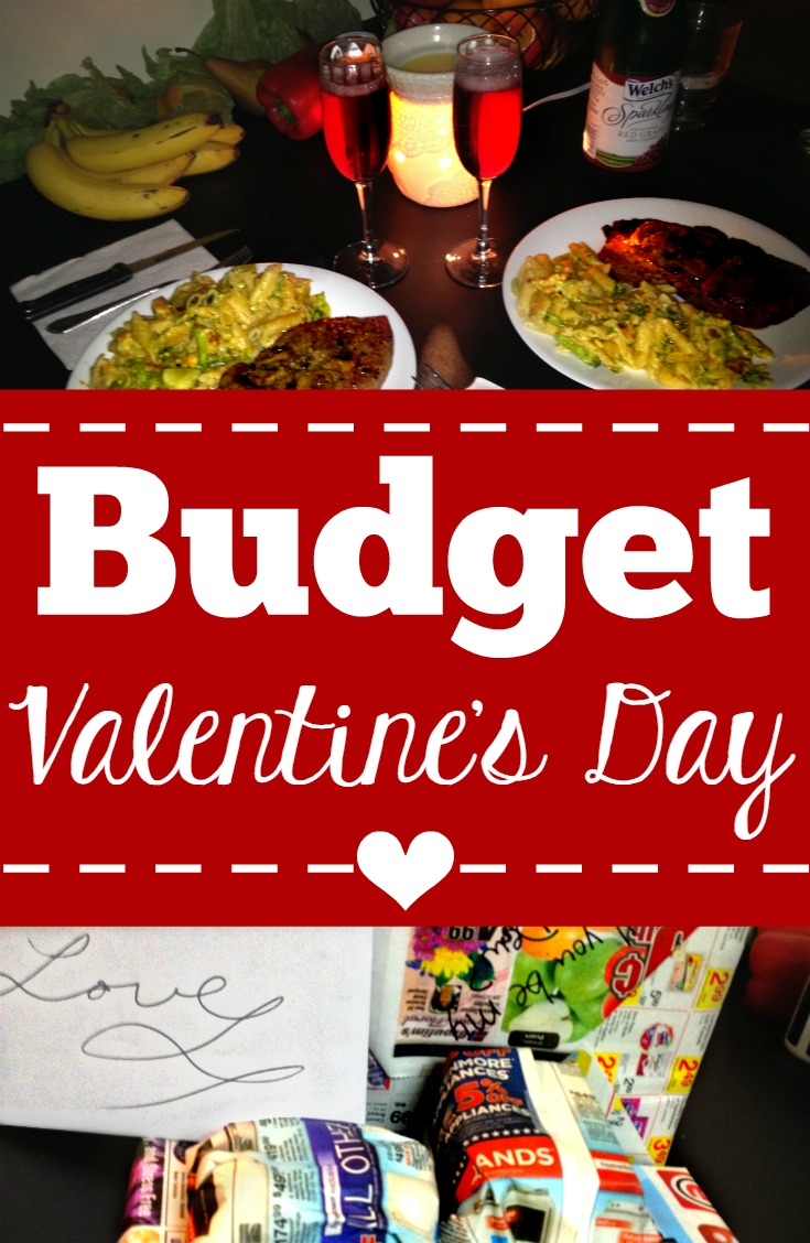 How to celebrate Valentine's Day on a $20 budget. Fun cheap date idea for any time, but especially great for a budget Valentine's Day.