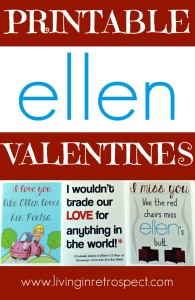 Check out these Printable Ellen Degeneres valentines. Funny Valentine's Day cards for the Ellen fan you love...