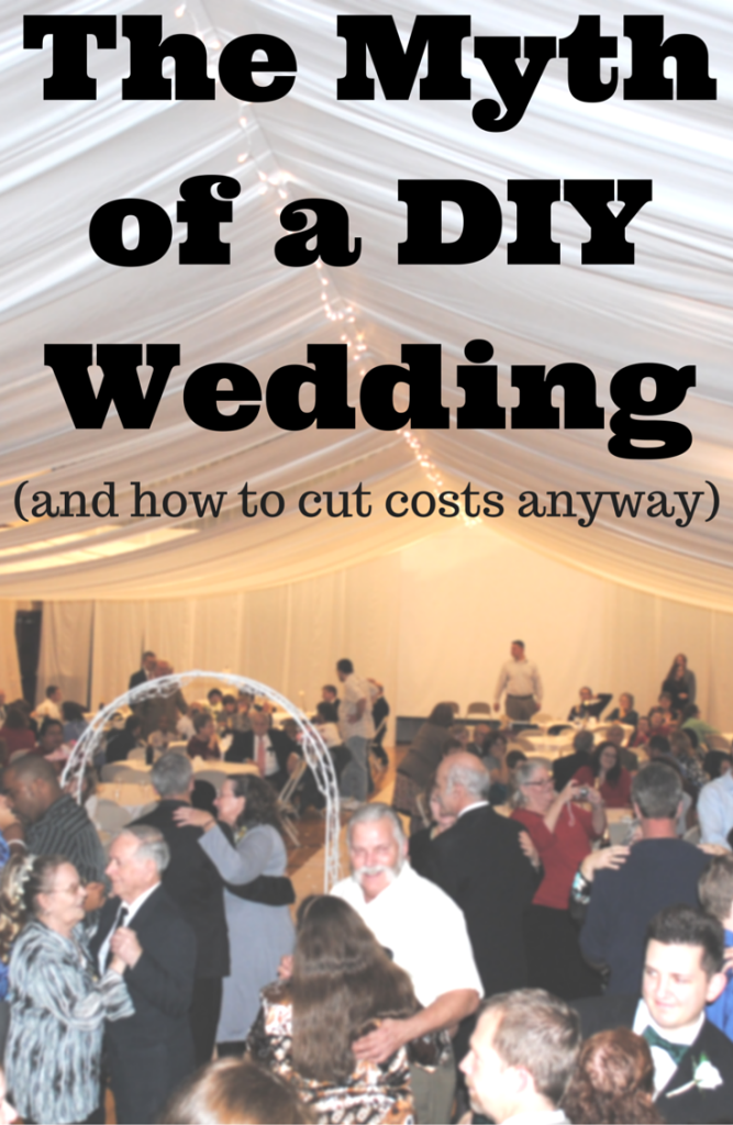 The Myth of a DIY Wedding and how to cut costs anyway | You can't do an entire wedding yourself. Read this post for suggestions on networking your way to a perfect wedding. This is great for my budget wedding!