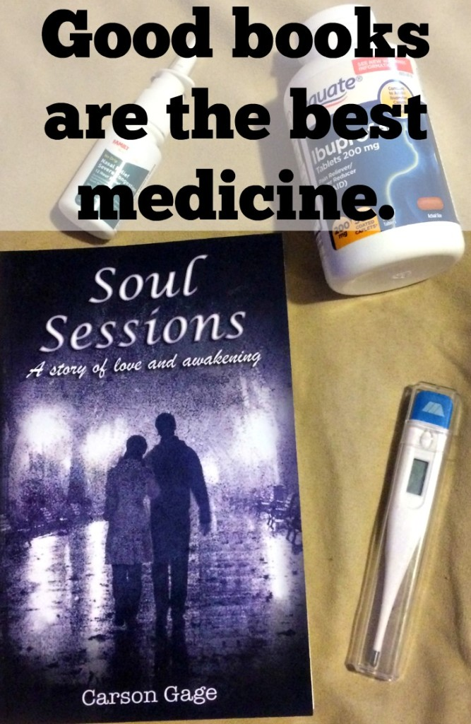 Good books are the best medicine. Soul Sessions by Carson Gage review
