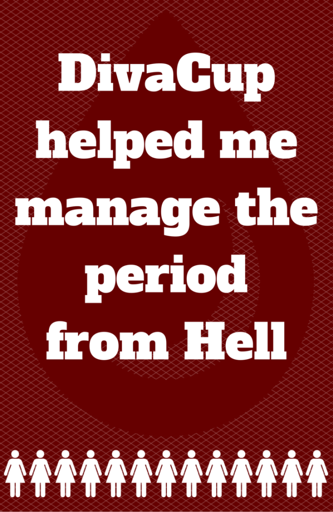 Provera Withdrawal Bleed from Hell - DivaCup helped me manage the period from hell. Read about the worst provera withdrawal bleed ever and how DivaCup made it manageable.