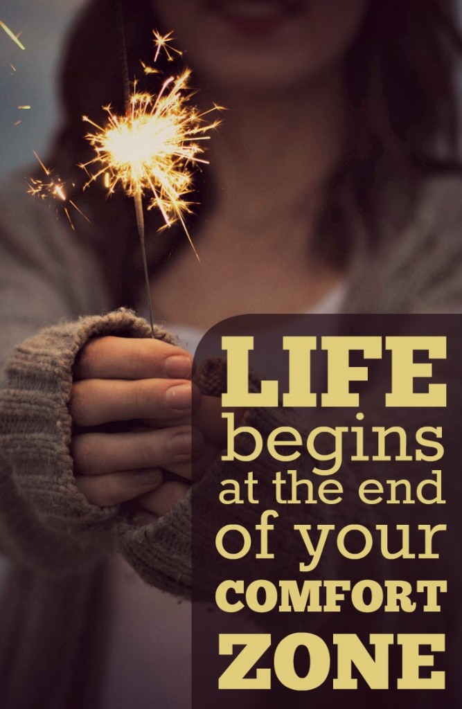 Life begins at the end of your comfort zone. Anxiety and fear WILL hold us back from living the lives we want unless we work daily to combat them. Quote of the day.