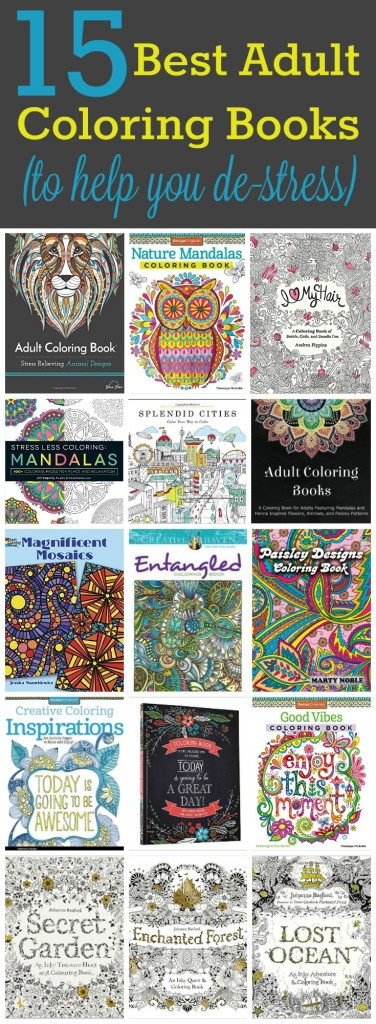 15 Best Adult Coloring Books | Living in Retrospect