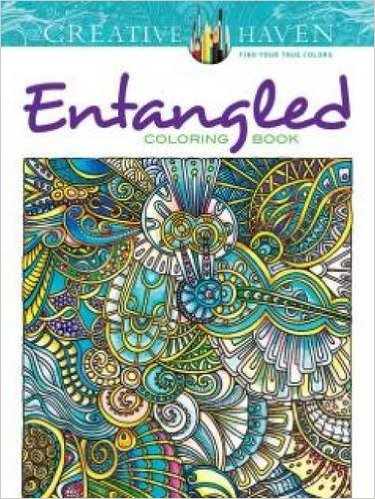 Creative Entangled Adult Coloring Book