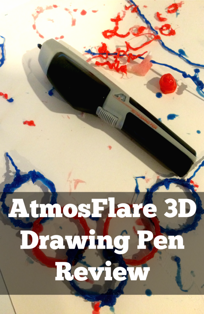 The #AtmosFlare 3D pen is only $29.99, and is a great beginner 3D Pen. It allows you to literally draw in midair. Check out the AtmosFlare review and learn more.