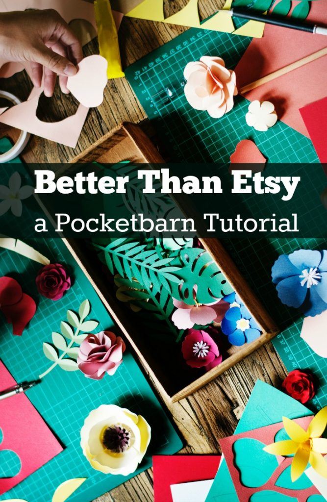 Pocketbarn Tutorial: Selling Crafts Online