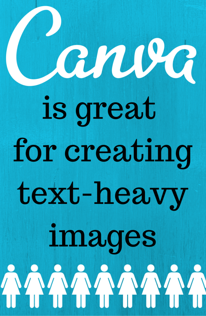 Design tools for business: PicMonkey vs. Canva - Why I use both to create images for my blog   Canva is great for creating text-heavy images.