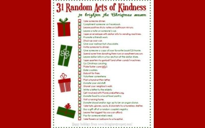 Random Acts of Kindness | Christmas Acts of Service
