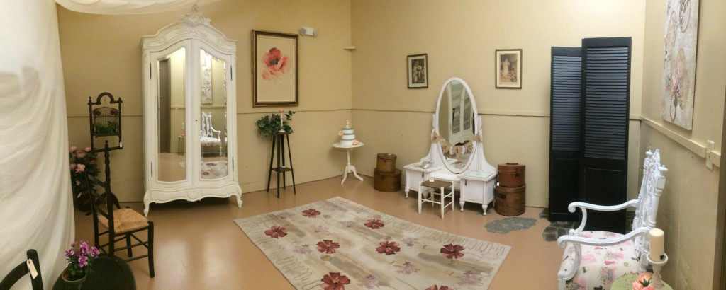 Bride's Room at Relics Antique Mall Event Center in Springfield, Missouri