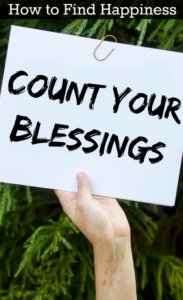 Are you depressed or anxious? You should definitely check out this blog post. It's one of a full series that talks about how to find happiness in the midst of anxiety, depression, and personal tragedy. Count Your Blessings